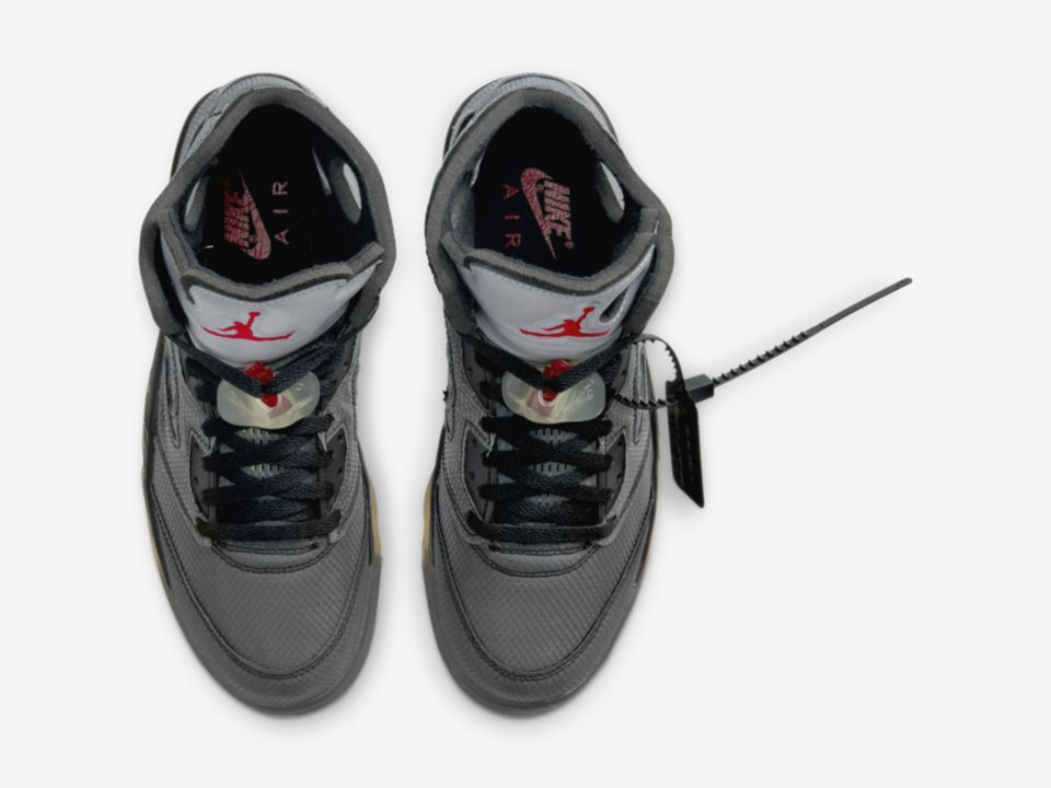 Off-White x Air Jordan 5 Slated For All-Star Weekend: Official Photos