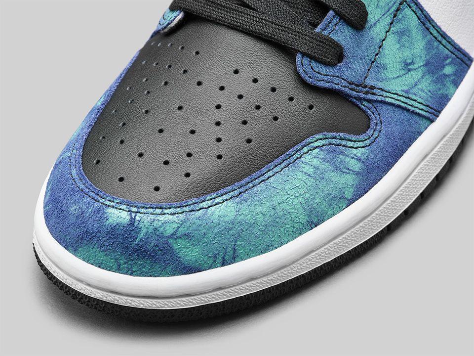 "Air Jordan 1 High OG ""Tie-Dye"" Release Date Revealed: Photos"