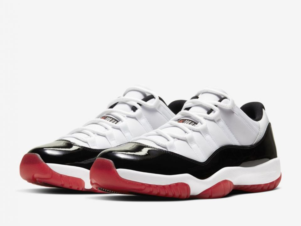"""Air Jordan 11 Low """"Bred Concord"""" Release Date Revealed: Photos"""